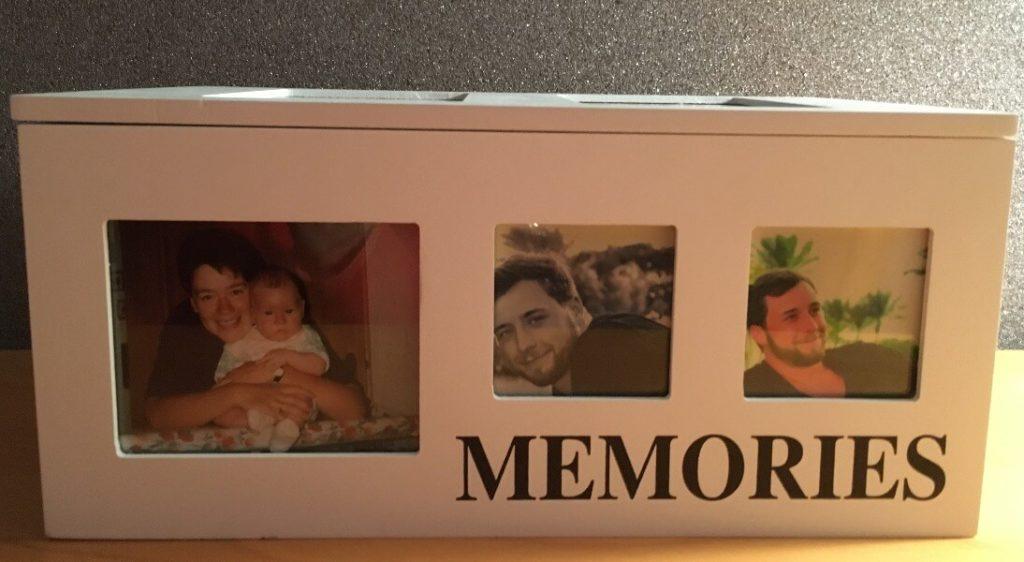 Eine Schatzkiste für Erinnerungen